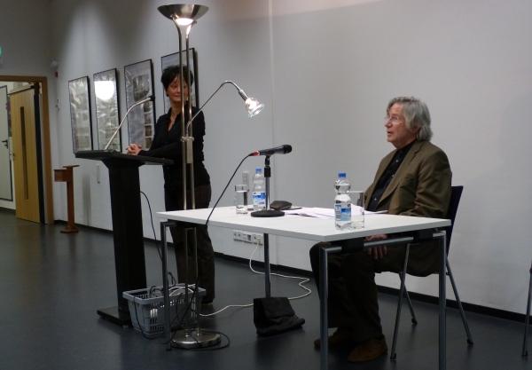 Der Leipziger Autor wird kurz vorgestellt...