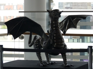 Say goodbye for now to the symbol of Wales - the Red Dragon