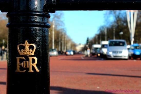 Sightseeing At Buckingham Palace