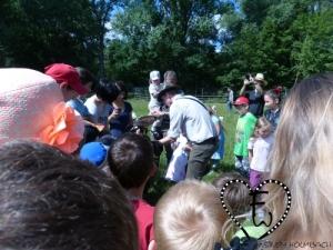 Die kleineren Besucher waren auch sehr interessiert...