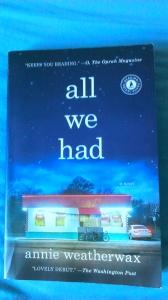 ~ All we had - ein gut geschriebenes Buch mit viel Potential ~